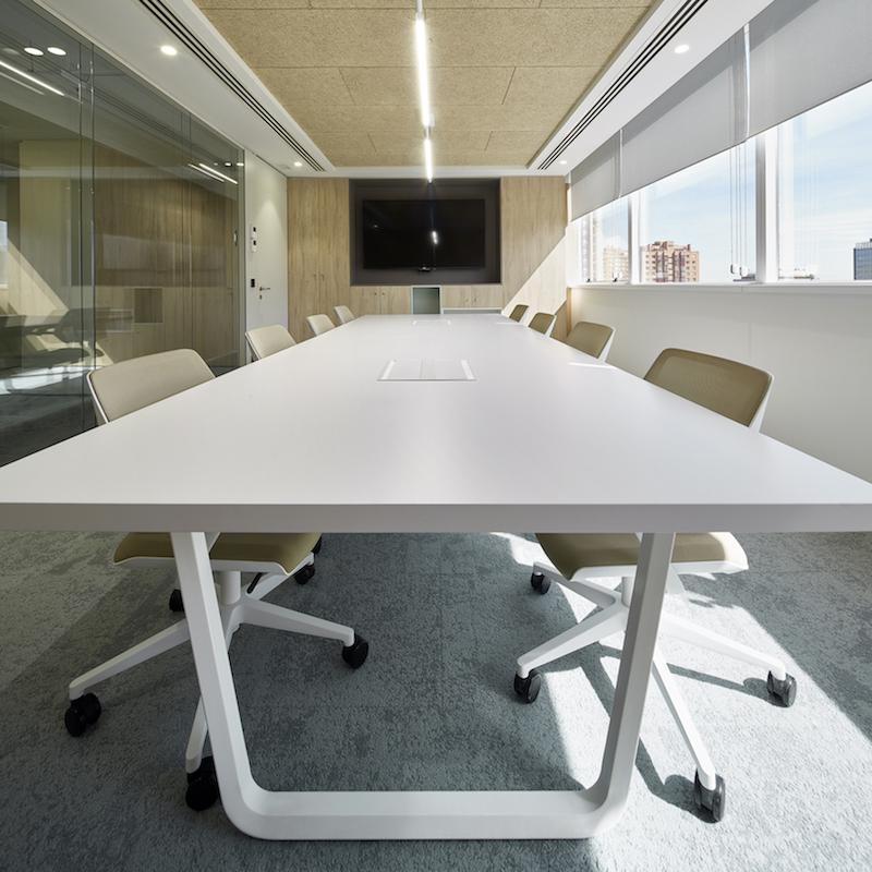 Proyecto de interiorismo para las oficinas de manpower for Endesa oficinas barcelona