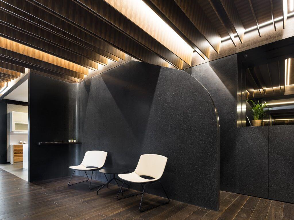 iván cotado diseña un showroom de cocinas