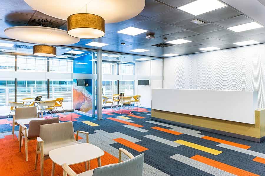 Aine, diseño de oficinas