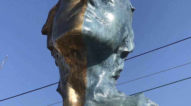 Escultura en ciudad