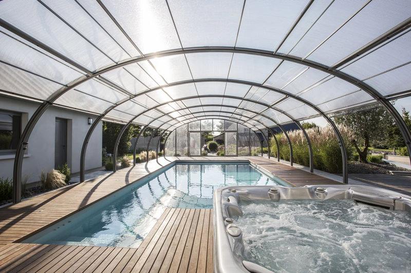 piscinas cubiertas en invierno