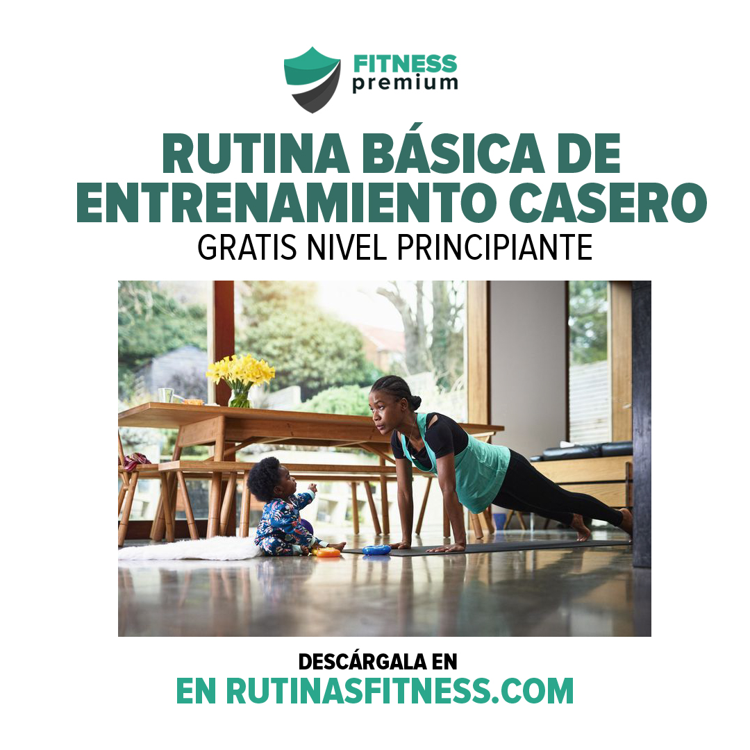 Rutina de entrenamiento en casa para principiantes