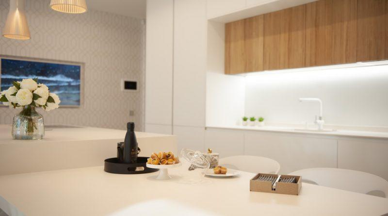 Arquitectura Singular Escenium cocina minimalista