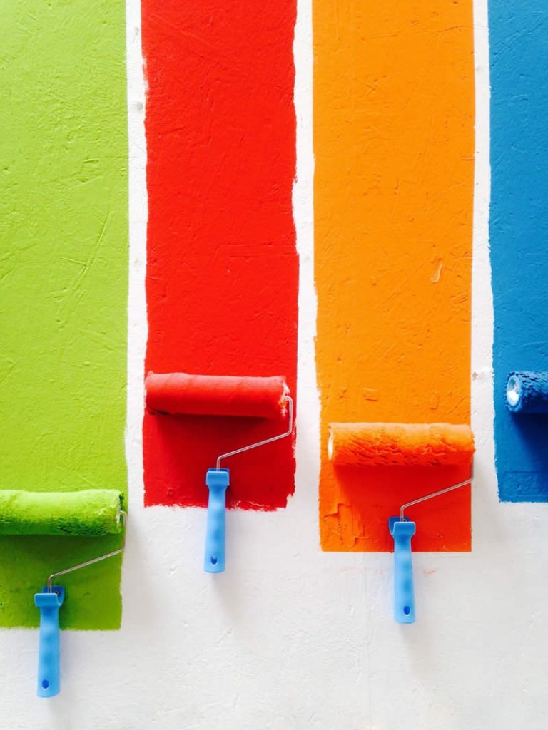 Tipos de pintura para interior
